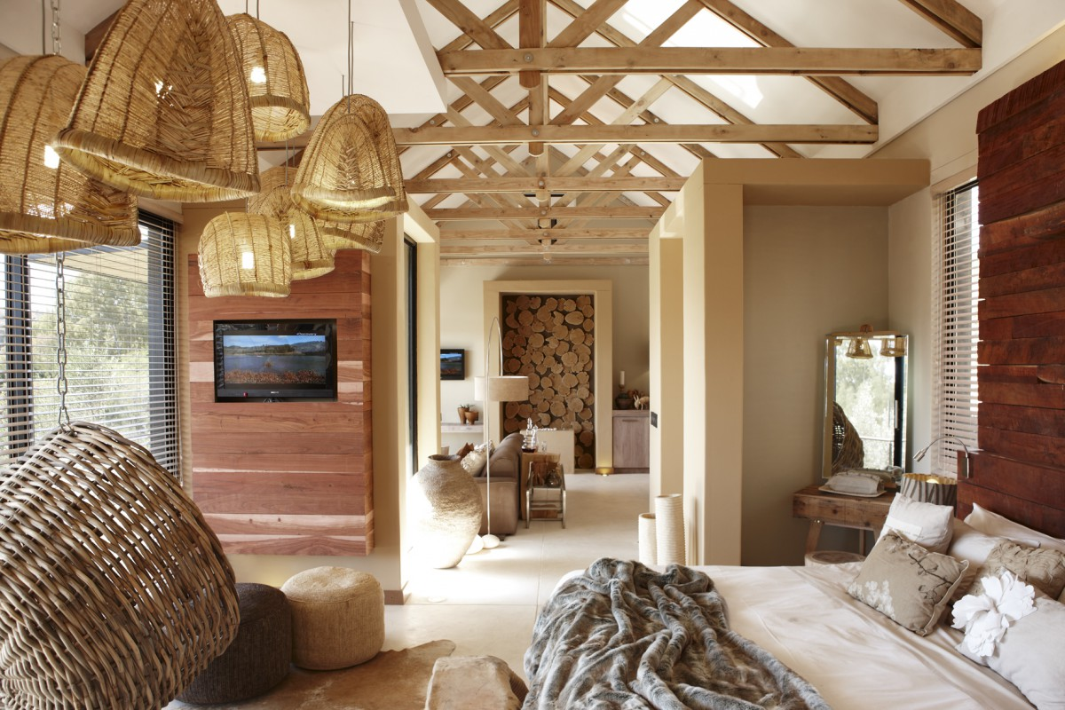 Chambre Windhoek Olive Guesthouse Namibie maison d hotes restaurant chic Namibie