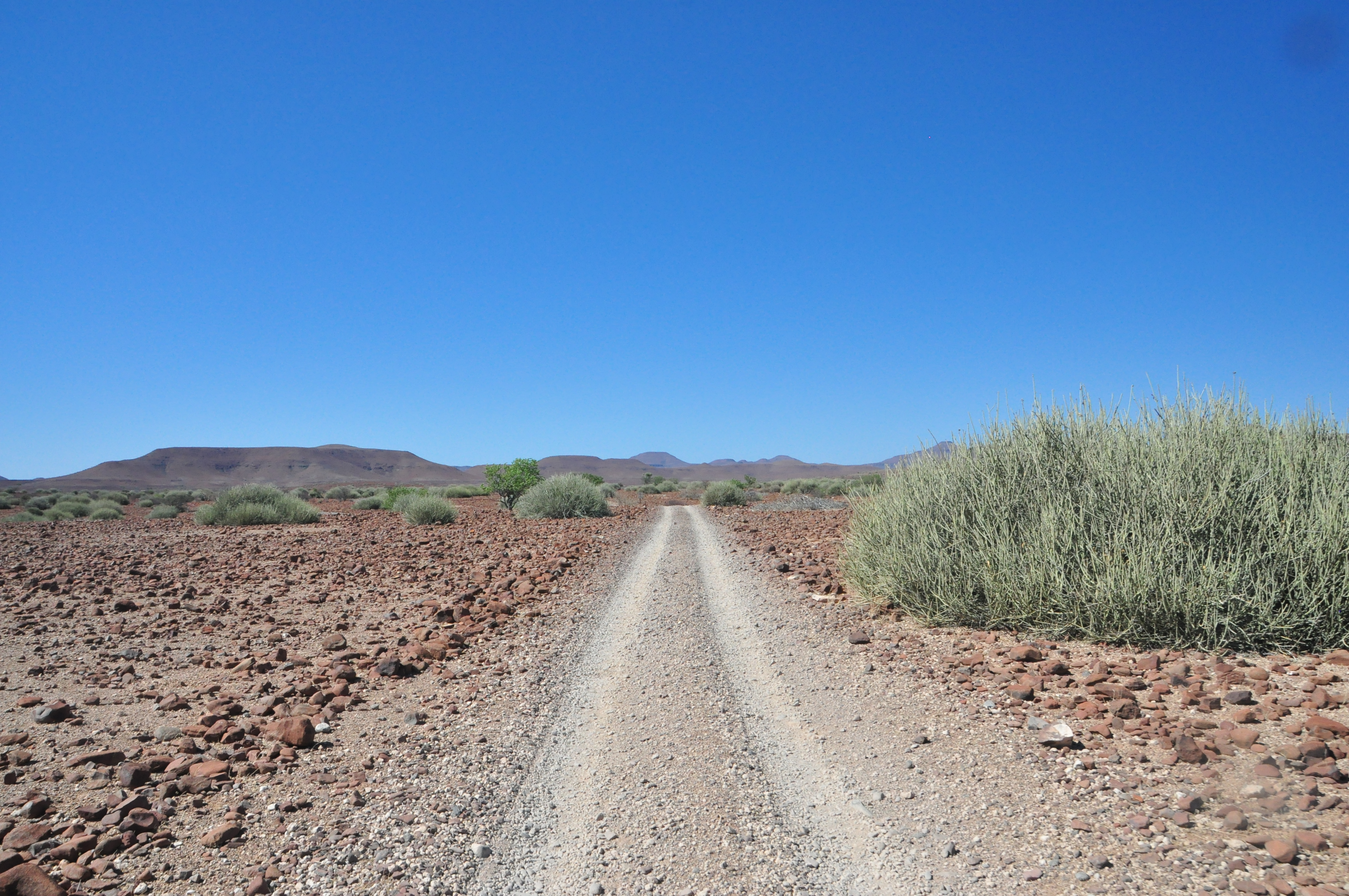 route 4*4 namibie